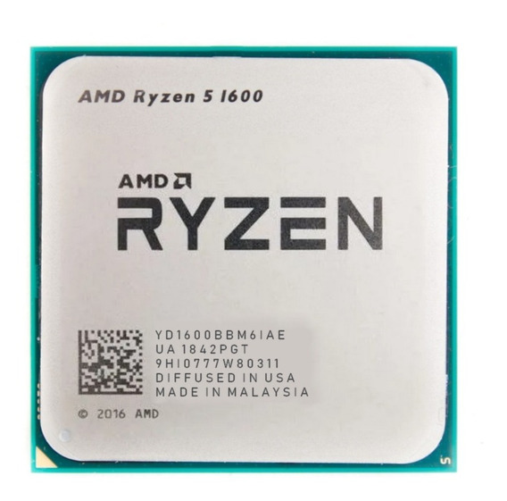 Processador Amd Ryzen 5 1600ae