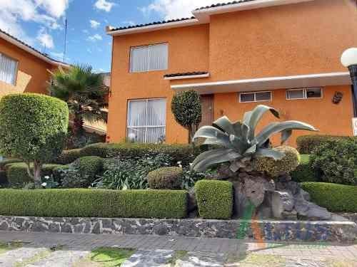 Venta Casa En Condominio Picacho Ajusco Tlalpan