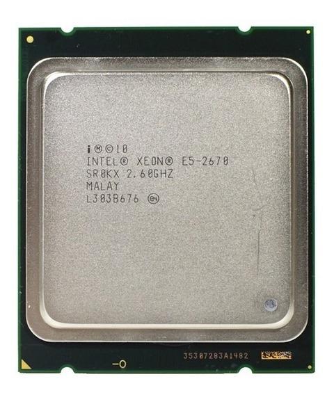 Processador Xeon E5-2670 2.6ghz 20mb 8c/16t -pronta Entrega