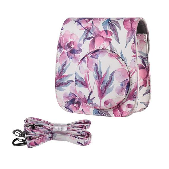 Andoer Pu Camera Case Bag Para Fujifilm Instax Mini 9/8 + /