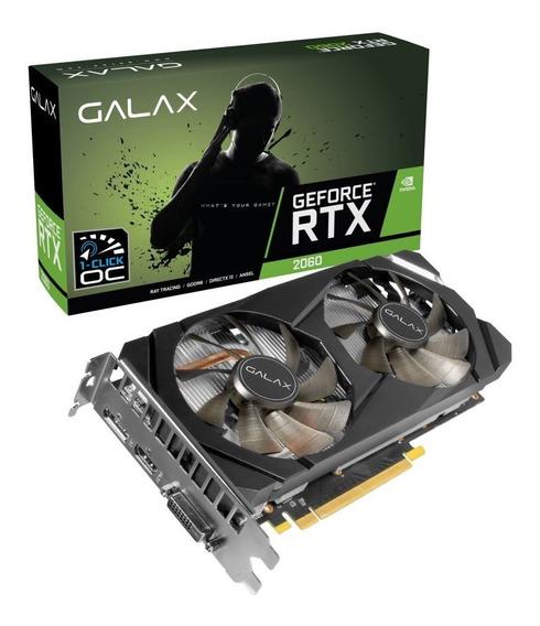Placa De Vídeo Gigabyte Nvidia Geforce Gtx 2060 6gb 1click O