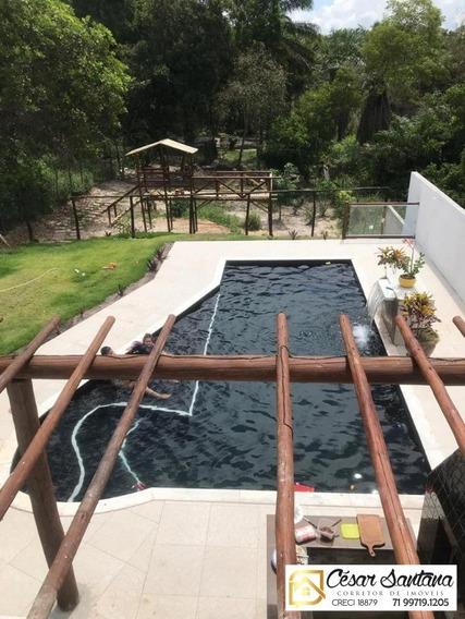 Casa 4/4 Em Condomínio Fechado - Jacuipe - Ca00558 - 34458458