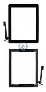 Digitalizador iPad 4 Negro A1458 A1459 Boton + Etiquetas