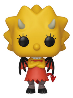 Figura Funko Pop Animation Simpsons S3 - Demon Lisa 821