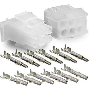 Conjunto Completo Molex -1 - (6 Circuitos) Con 14-20 Awg,