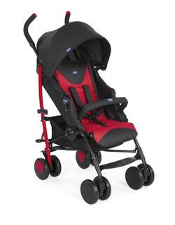 Carrinho Bebê Echo Bumper Scarlet Chicco 4 Posições Até 15kg