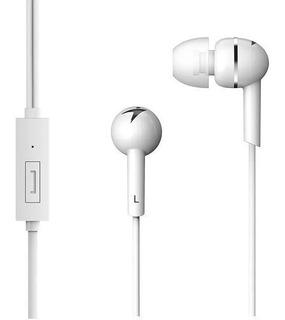 Auricular Genius In Ear Hs-m300 Blanco C/mic Manos Libres