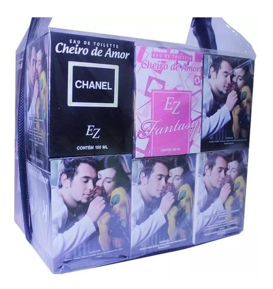 Kit 24 Perfume Cheiro De Amor