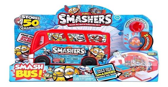 Smashers Bus Cancha De Futbol Con Figuras
