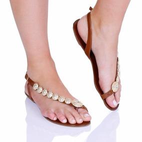 Rasteira Rasteirinha Bolas Feminina Sandália Rosa Shoes 02
