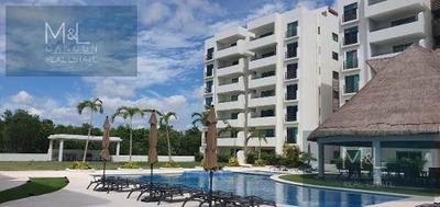 Departamento En Venta Cascades Residencial Aqua, Penthouse De 3 Recàmaras Con Roof Garden,. Supermanzana 330, Cancún, Quintana Roo Mèxico