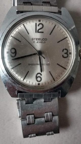 Reloj Steelco 17 Joyas, Cuerda 1973