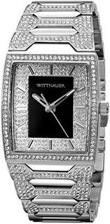 Wittnauer Mens Wn3037 Pulsera De Reloj De Acero De 30 Mm De