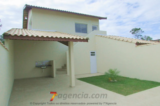 Ch24 Casa Nova 2 Quartos Terreno Grande Ideal Para Piscina