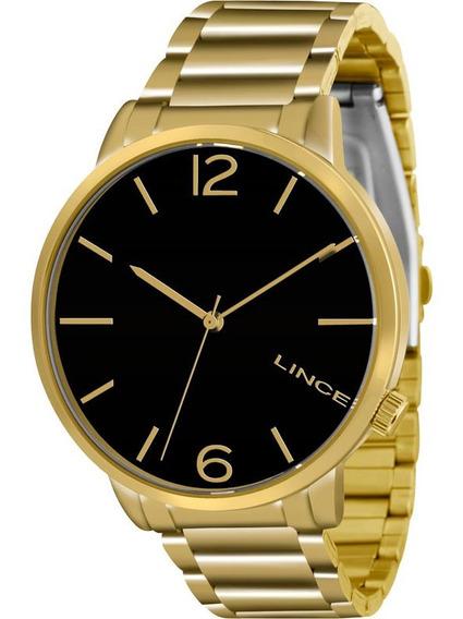 Relógio Lince Lrgj043l P2kx Feminino Dourado Refinado De Vitrine