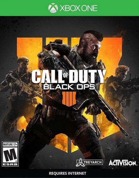 Jogo Call Of Duty Black Ops 4 - Xbox One Míd Física Nf Promo
