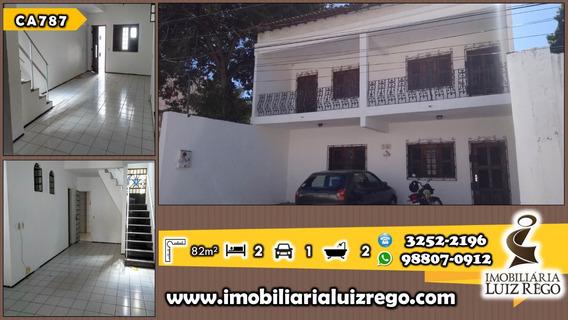 Ca787- Casa Duplex No Meireles, 5 Suítes, 3 Vagas