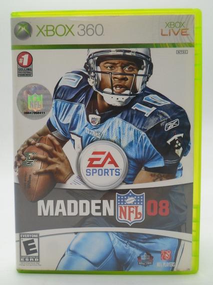 Madden 08 Xbox 360 Original Mídia Física