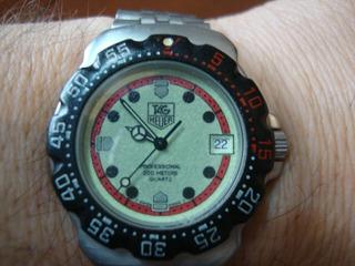 Reloj Tag Heuer F1 Modelo F1- Wa1211 Fluorecente