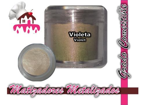 Imagen 1 de 1 de Matizadores Comestibles Violeta / Violet 5g