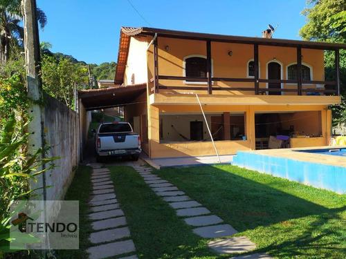 Chácara Com 3 Dormitórios À Venda, 1417 M² Por R$ 680.000 - Pilar Velho - Ribeirão Pires/sp - Ch0038