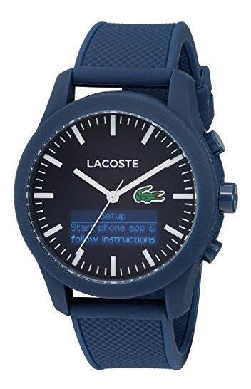 Lacoste 12.12-tech - Reloj Inteligente Para Hombre (cuarzo,