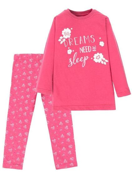 Pijama Esther Fucsia Oscuro 4kids