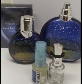4 Decants 5 Ml: Bleu+ Fierce Abercrombie+ Midnight P.+ Terre