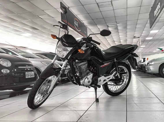 Honda Cg Start 160 2016 Preta Cod:.1011