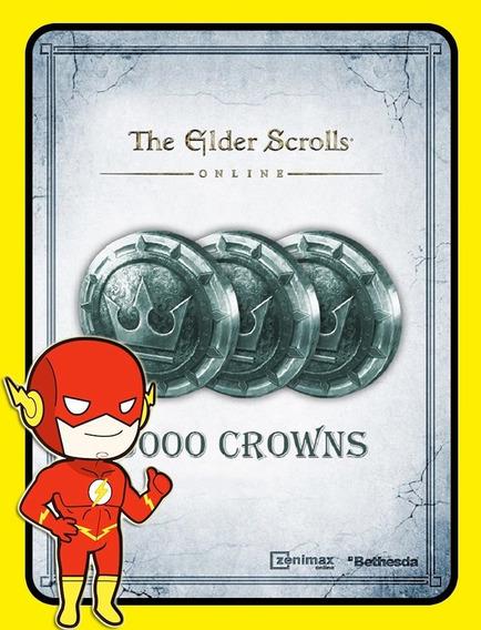 The Elder Scrolls 3.000 Coins Pc - Teso Key (envio Flash)