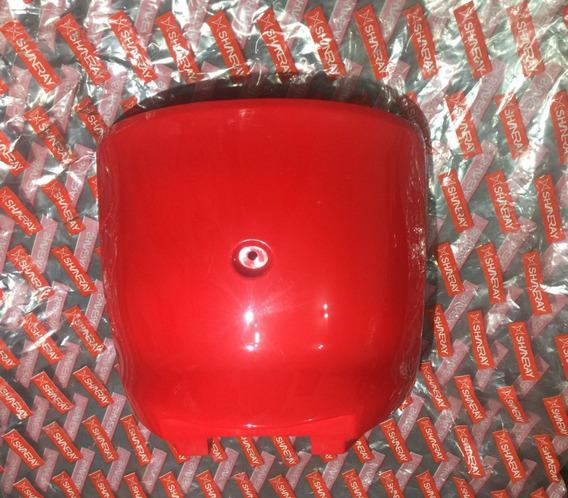 Acabamento Inferior Do Chassi Shineray Retrô Vermelha