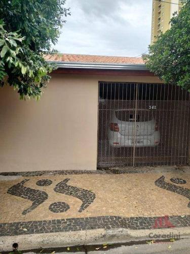 Imagem 1 de 9 de Casa Com 2 Dormitórios À Venda, 120 M² Por R$ 275.000,00 - Jardim Brasil - Americana/sp - Ca3037