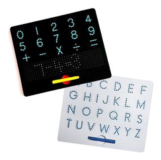Set Tablas Didácticas Escritura Mano Letras Y Números Magpad