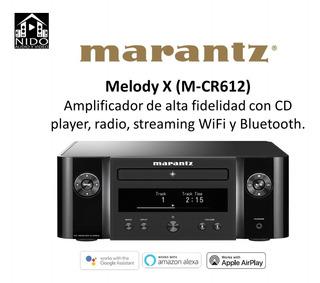 Marantz M-cr612 Amplificador Cd Player Wifi Bluetooth Hifi