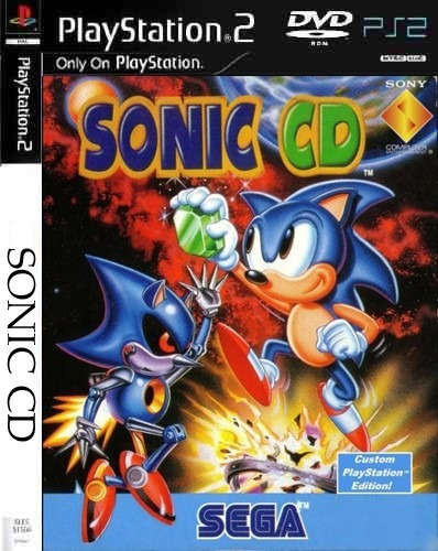 Sonic Cd - Playstation 2 -