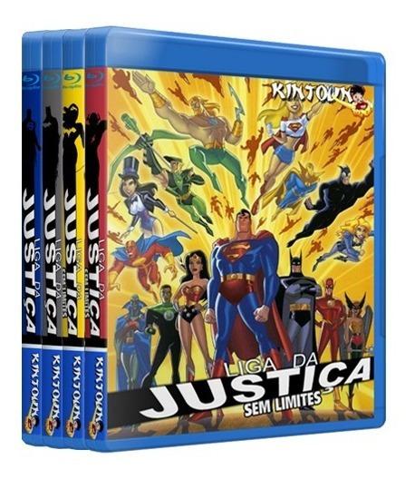 Bluray Liga Da Justiça E Sem Limite Completo Dublado