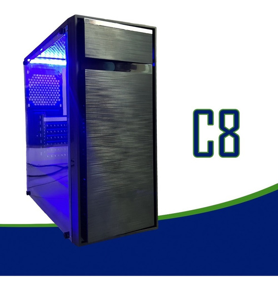 Cpu Gamer /core I5/ 16gb/ 1tb/ Gtx1050 4gb Ti/ Wifi/ Led/gab