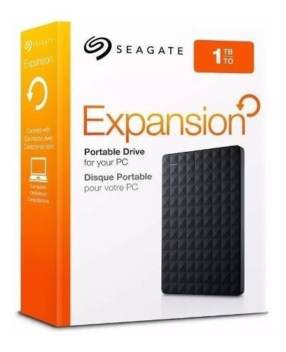 Disco Rigido 1tb Externo Seagate Expansion - Factura A / B