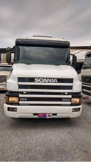 Scania 124 360 Bicuda Trucada