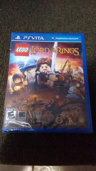 Lego The Lord Of The Rings Psvita Lacrado Mídia Física
