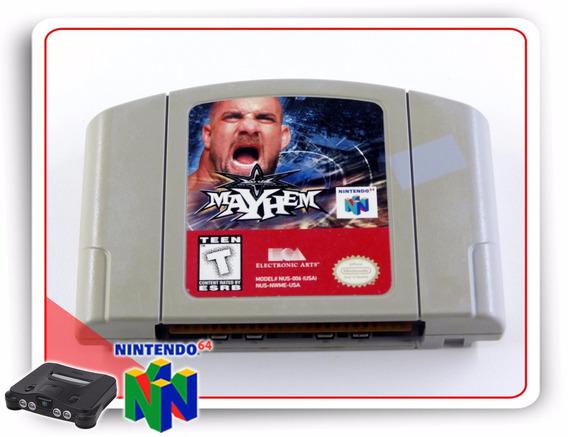 Wcw Mayhem Nintendo 64 Original N64