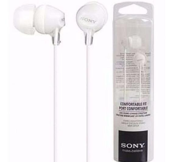 Fone Intra Ex15 Branco Sony