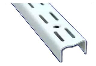 10 Riel Ménsul 1.50 Metro Blanco Reforzado Estanteria Art270