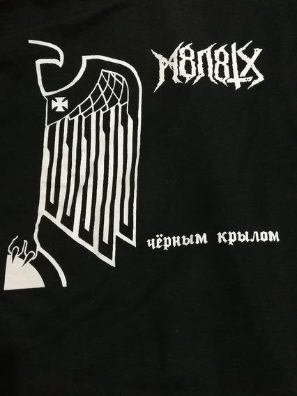 Camiseta M8l8th Manga Longa Importado
