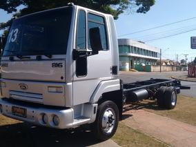 Caminhão 3/4 Ano 2013 Ford Cargo 816 No Chassi