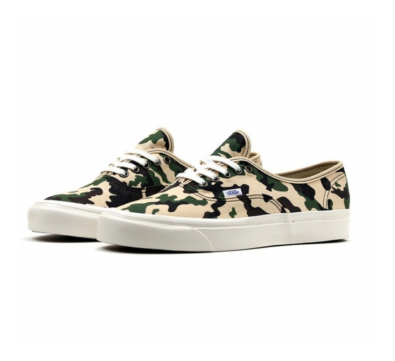 Tenis Vans Authentic 44 Dx Anaheim Factory Camuflaje Skate