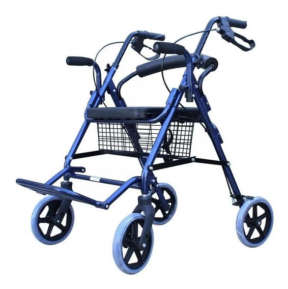 Andadera Ortopedica Rollator Hibrida Para Adulto
