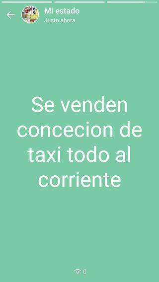 Concecion De Taxi