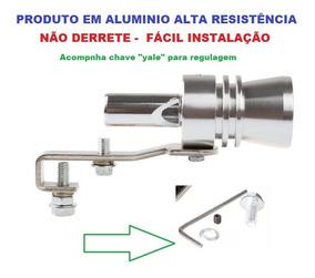 Simulador Turbo Apito Suspiro Tuning Aluminio Resistente Top
