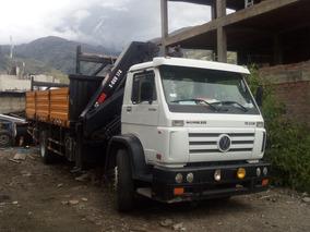 Camion Volkswagen Worker 17-220 Con Grua Hiab X-duo 178